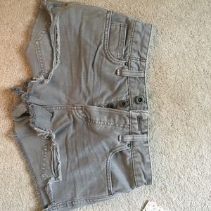 Brand new free people jean shorts